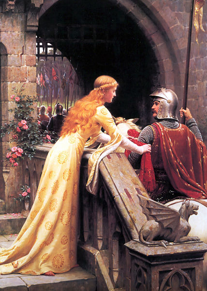 Edmund Blair Leighton God Speed  x