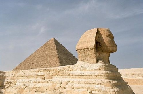 Pyramid of Chufu, Sphinx x